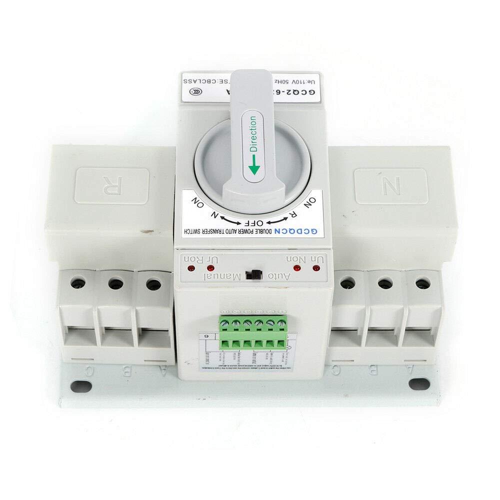 LianDu 63A 2300V 50HZ/60HZ Dual Power Automatic Transfer Switch ...