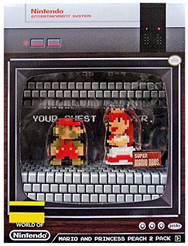 SDCC 2017 Mario and Princess Peach 2 Pack Jakks Pacific Entertainment Earth Nintendo from Jakks Pacific