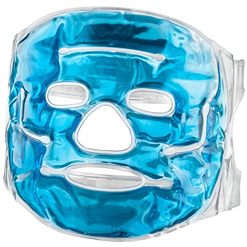 Feluna Gel-Gesichtsmaske Wellnessmaske Entspannungsmaske Kältetherapie Augenmaske Gelmaske Kühlmaske