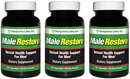 Male Restore with all natural Kaempferia Parviflora (KP) is clinically proven to work in your brain & body to improve your sexual experience. Helps support rapid sensory & physical response to sex (3)