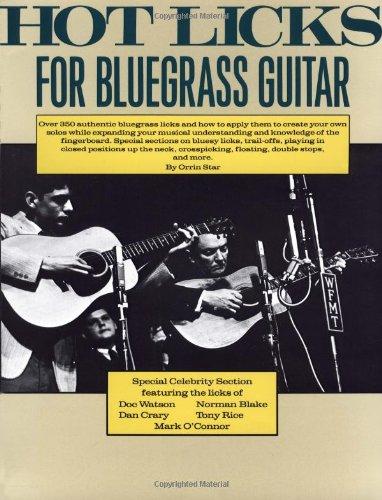 Bluegrass Star - Hot Licks for Bluegrass Guitar