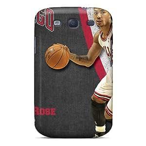 Excellent Design Chicago Bulls Phone Case For Galaxy S3 Premium Tpu Case