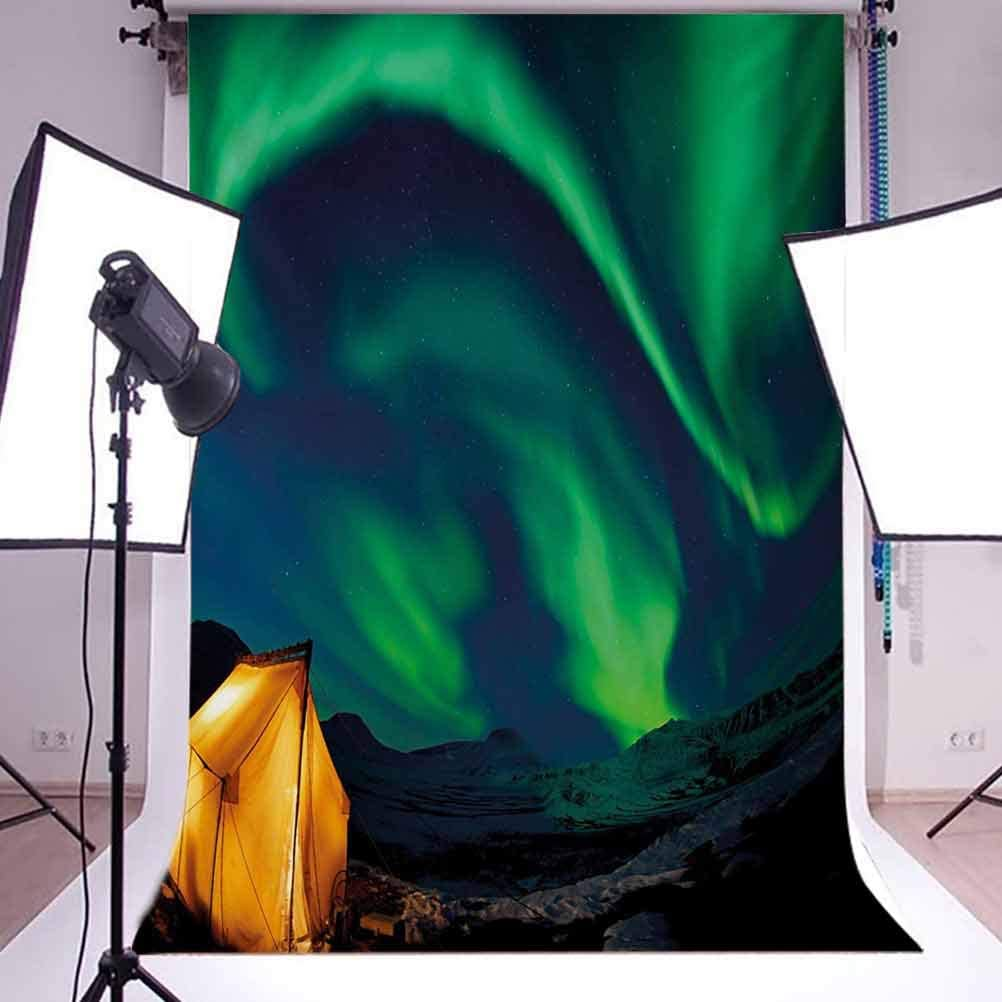 Guitar 8x10 FT Photo Backdrops,Watercolor Musical Instrument with Notes Sheet Elements Brush Stroke Effect Background for Baby Shower Birthday Wedding Bridal Shower Party Decoration Photo Studio