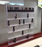 Beauticom Professional Acrylic Nail Polish Wall Rack Display (Holds up to 96 Bottles)