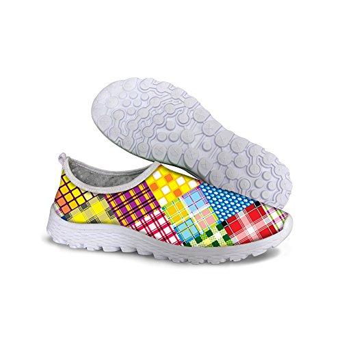 Per Te Disegni Scarpe Da Corsa Sneaker In Mesh Comoda E Alla Moda Per Le Donne Multi B1