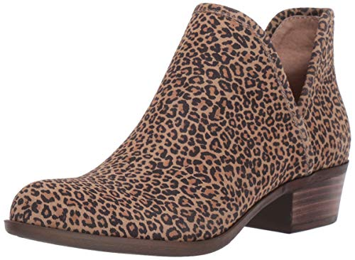 Lucky Brand Women's Baley Ankle Boot, Eyelash, 6.5 M