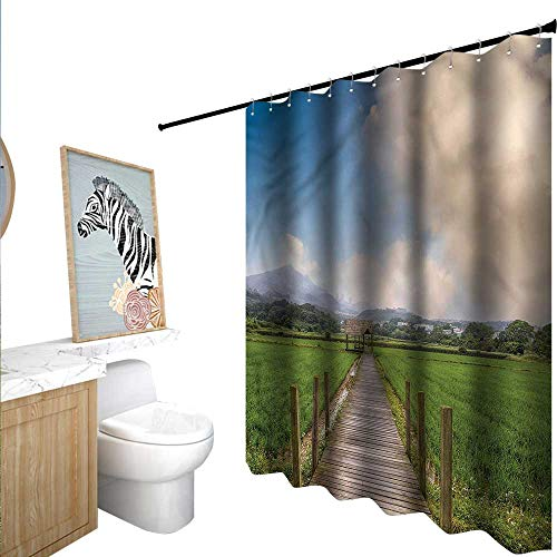 Used, BlountDecor Country Shower Curtains Mildew Resistant for sale  Delivered anywhere in USA