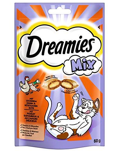 Dreamies Katzensnack Mix Huhn und Ente 60g