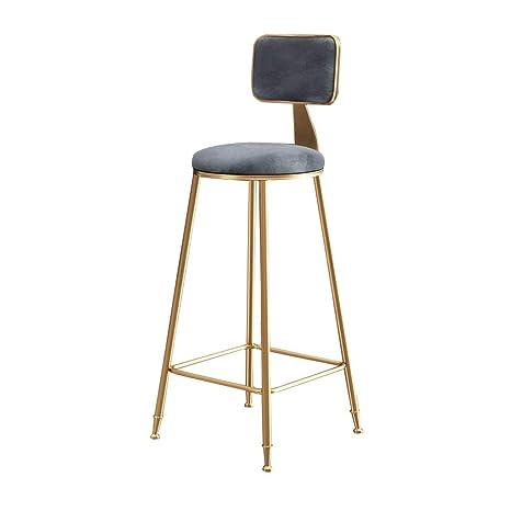Awesome Amazon Com Oug 30 Inch Gold Wrought Iron Bar Stool High Spiritservingveterans Wood Chair Design Ideas Spiritservingveteransorg