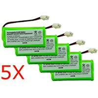 Axiom 5Pack Rechargeable Battery For EMPCPH515D / ERP295GRN / SJB2121 / SM15320M / TEL0032 / TELVT6031 / UL133 / TEL10213 / 25255RE6