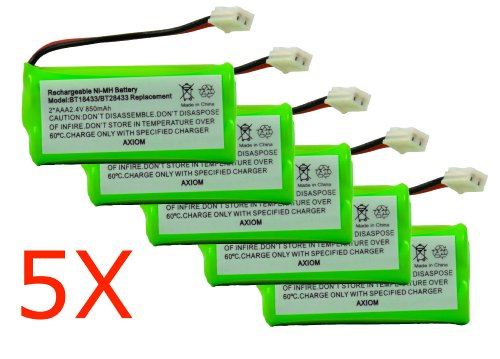 Axiom 5Pack Rechargeable Battery For EMPCPH515D / ERP295GRN