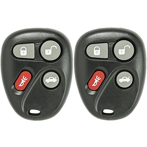 Keyless2Go Keyless Entry Car Key Fob Replacement for Vehicles That Use 4 Button L2C0005T 12223130-50 Remote - 2 - 2002 Saturn Sl2 Replacement