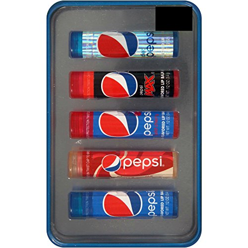 Price comparison product image Pepsi 5 Flavored Lip Balm Set
