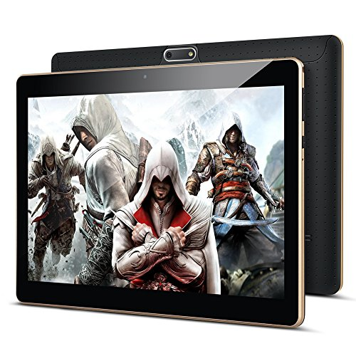 "10.1"" Inch Google android Tablet PC,PADGENE Android 8.1 Phablet Tablet Quad Core Pad with 2GB RAM 32GB ROM, Dual Camera…"