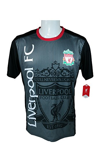 Liverpool F.C. Soccer Official Adult Soccer Training Performance Poly Jersey Rhinox-J002 -