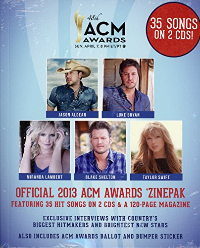 Price comparison product image Official 2013 ACM Awards Zinepak 2-CD Walmart Exclusive