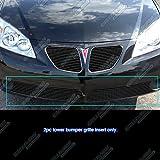pontiac g6 grill inserts - Fits 2005-2008 Pontiac G6 Lower Bumper Black Billet Grille Insert #P65131H