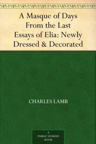 essays of elia amazon