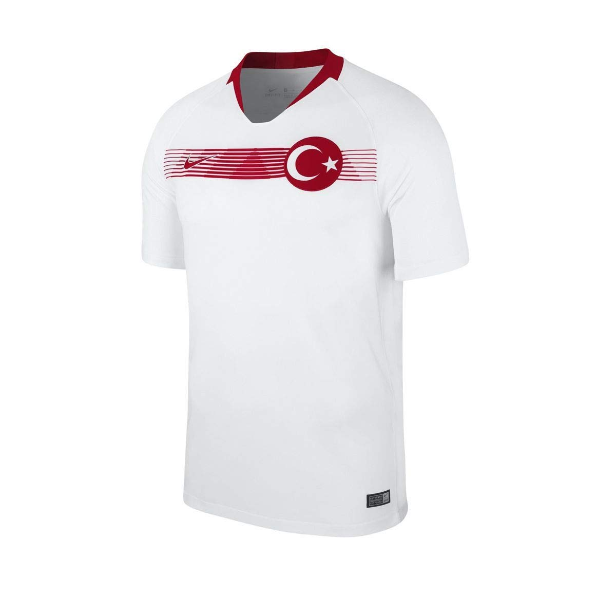 6fa01bfa1ae Nike 2018-2019 Turkey Away Football Soccer T-Shirt Jersey