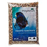 buy Imagitarium River Rock Shallow Creek Aquarium Gravel, 20 LBS now, new 2020-2019 bestseller, review and Photo, best price $19.99