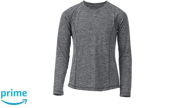 a49c5b35 Amazon.com: BCG Girls' Turbo Heather V-Neck: Clothing