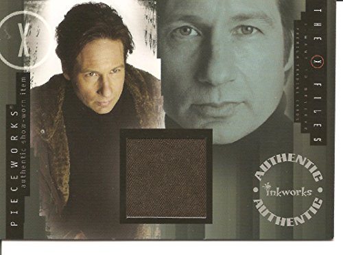 X Files Costumes (X-Files I Want to Believe David Duchovny (Mulder) Jacket Pieceworks Costume Card #PW1)