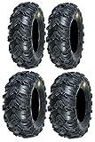 Full set of Sedona Mud Rebel 25x8-12 and 25x11-10 ATV Tir...