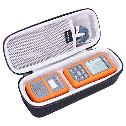 LTGEM EVA Hard Case for ThermoPro TP20 / TP08S / TP07 Wireless Remote Digital Cooking Food Meat Thermometer (Black)