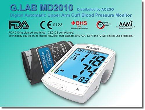 G.LAB Digital Automatic MD2010 Upper Arm Cuff Blood Pressure Monitor 51j4aCs7TtL