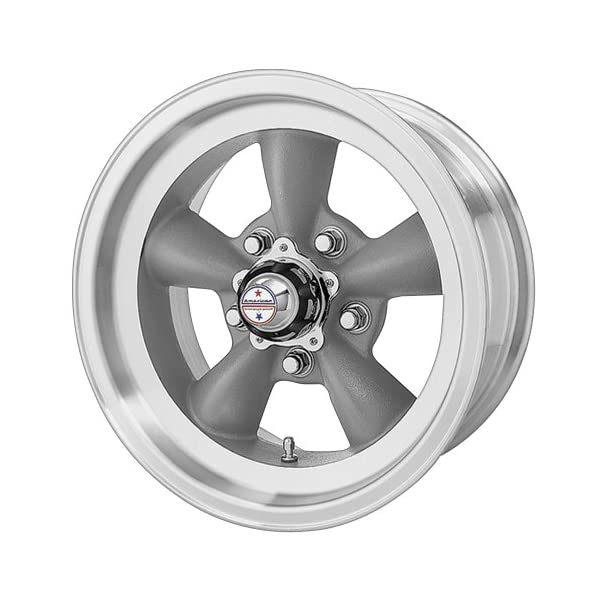 American-Racing-Custom-Wheels-VN105-Torq-Thrust-D-Torq-Thrust-Gray-Wheel-With-Machined-Lip-15x455x1143mm-15mm-offset