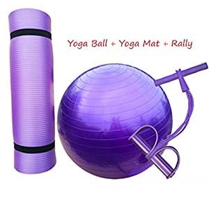 Yoga Ball + Yoga Mat + Rally, pelota de gimnasia para niños ...