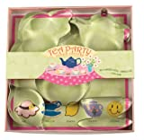 Fox Run 36003 Tea Party Cookie Cutter Set, Tin-Plated Steel, 5-Piece