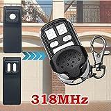 4 wire garage door button - 4 Button 318MHz Replacement Garage Door Remote Control for MCT-11 MCT-3 DNT00090