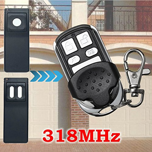 4 Button 318MHz Replacement Garage Door Remote Control for MCT-11 MCT-3 - Lens O Hk