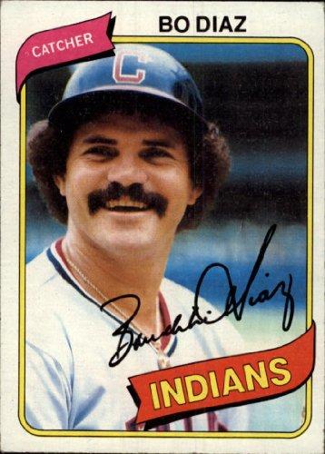 1980 Topps Baseball Card #483 Bo Diaz (1980 Topps Card)