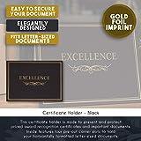 Certificate Holder - 12-Pack Diploma