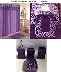Magnificent Roman Bath Store Toronto Tiny Bath Vanities New Jersey Shaped Small Country Bathroom Vanities Bathroom Water Closet Design Old Majestic Kitchen And Bath Nj Reviews BlueFrench Bathroom Wall Sign Amazon.com: 19 Piece Bath Accessory Set Purple Zebra Bathroom Rugs ..