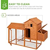 Best Choice Products 80in Outdoor Wooden Chicken