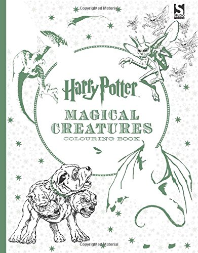 Harry Potter Magical Creatures Colouring Book 2 At Shop