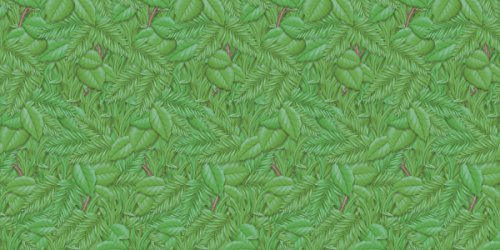 Fadeless Bulletin Board Art Paper, Tropical Foliage, 48