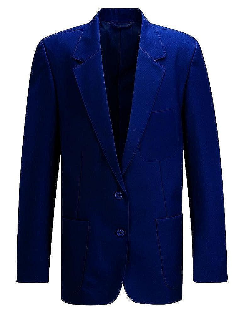 Blue Max Kids School Uniform Outerwear Jacket Ziggys Girls Zip Entry Blazer Coat