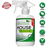 Mouse-B-Gone I Natural Mouse Repellent Spray I Mice Rat Squirrel & Rodent Deterrent I Vehicle Protection- Car RV Boat I Indoor & Outdoor I Peppermint Oil Non-Toxic Safe for Kids & Pets- Large 16oz