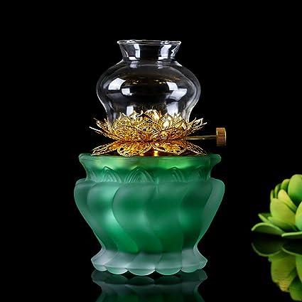 Lámparas De Aceite Mantequilla Kmyx Budistas Suministros Buda Hogar LSVzpUjqMG