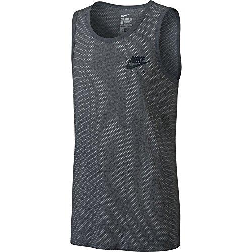 Nike Air Statement Men's Tank Top Athletic Grey/White/Black 779850 021