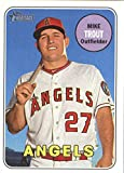 2018 Topps Heritage #275 Mike Trout Los Angeles Angels Baseball Card