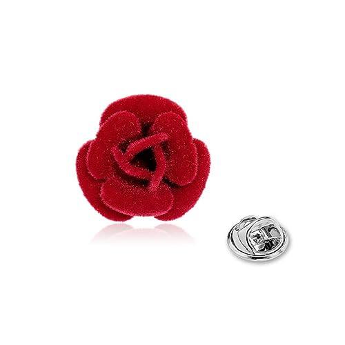 Flor Pin De La Solapa Boutonniere De Rose Flor Pin De La ...