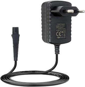 Braun - Cargador de afeitadora eléctrica (12 V, CA, adaptador de corriente para Braun Z20, Z30, Z40,1,2 m), color negro: Amazon.es: Salud y cuidado personal