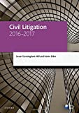 Civil Litigation 2016-2017 (Blackstone Legal Practice Course Guide)