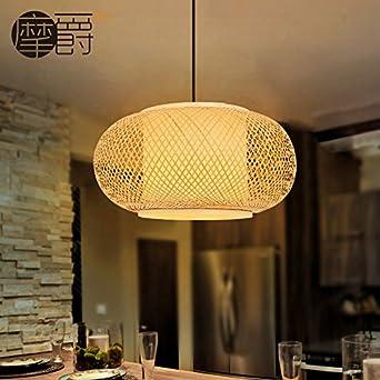 Pendelleuchten Japanische Bambus Lampen Sudostasiatischen Chinesisch