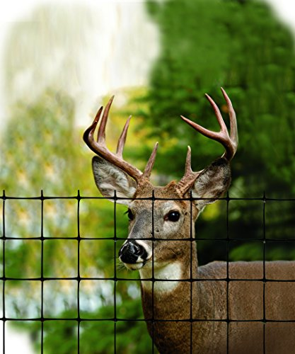 Tenax 2A120379 Economy Deer Control Fence, 7.5′ x 165′, Black For Sale